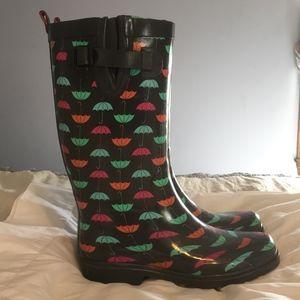 Whimsical Umbrella Rain Boots